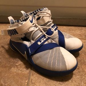 de30d42163fb Nike Shoes - University of Kentucky Lebron James Size 7